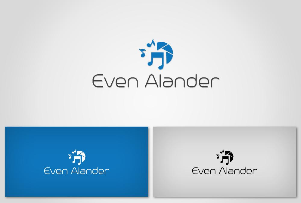 Even Alander logo mockup 02
